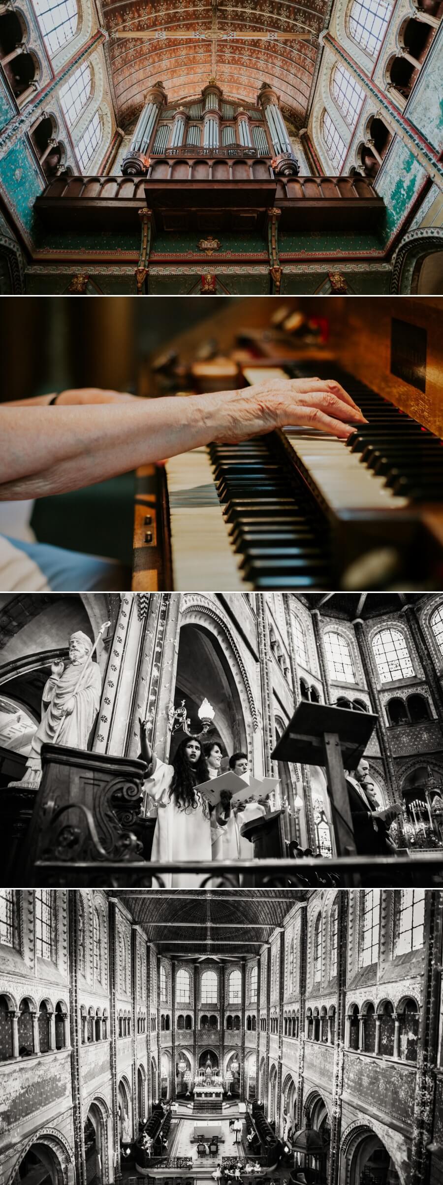 reportage photo de mariage Eure et Loir cérémonie Eglise Saint Aignan Chartres