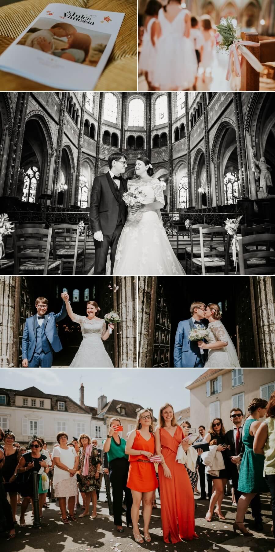 reportage photo de mariage moulin Ste Agnès Landelles Eure et Loir Eglise Saint Aignan Chartres
