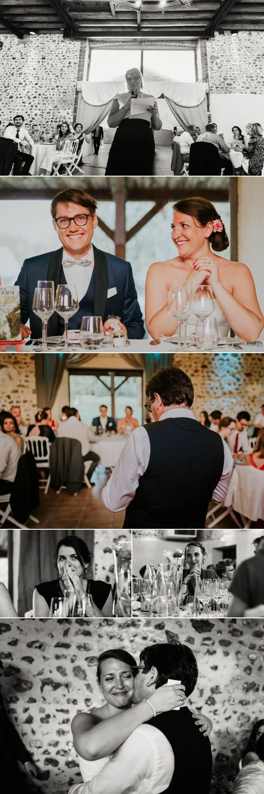 réception dîner de mariage moulin Ste Agnès Landelles Eure et Loir Chartres