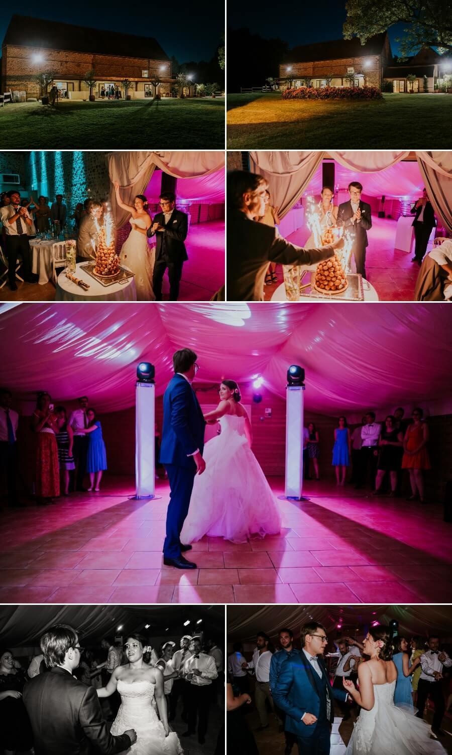 soirée dansante mariage pièce montée première danse moulin Ste Agnès Landelles Eure et Loir Chartres
