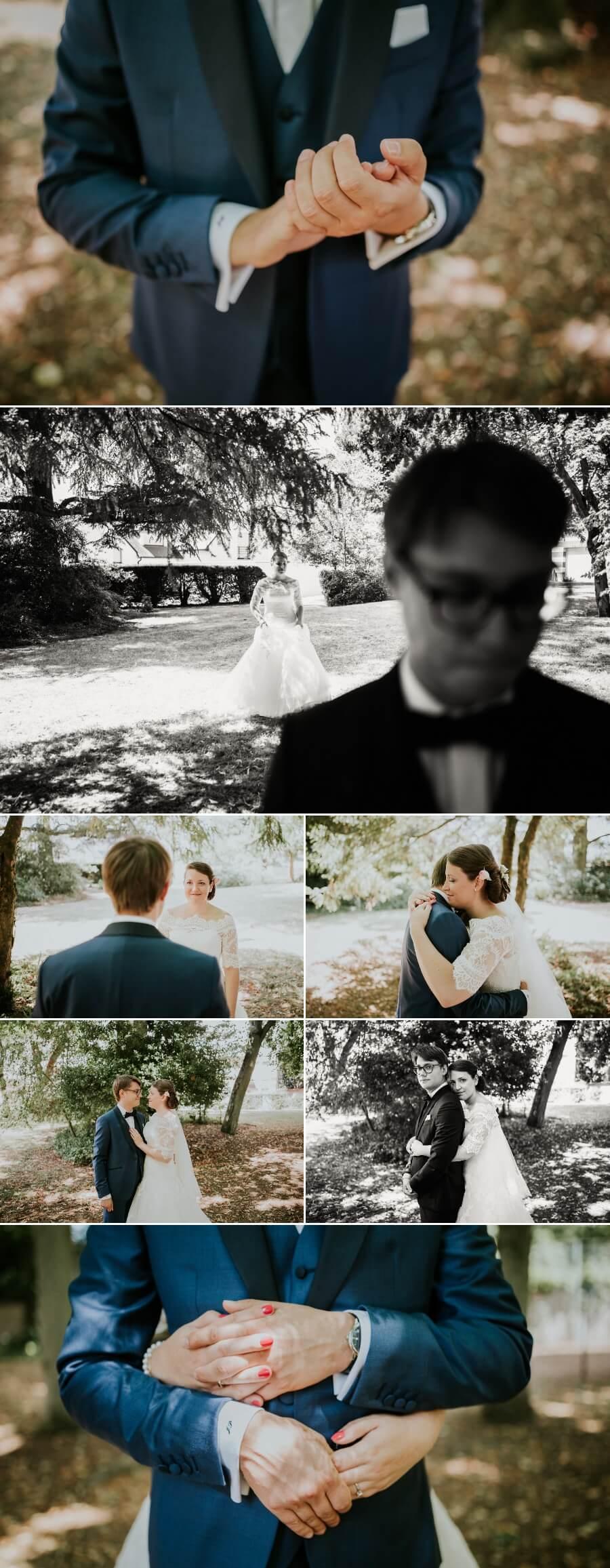 reportage photos de mariage découverte des mariés photographe Eure et Loir