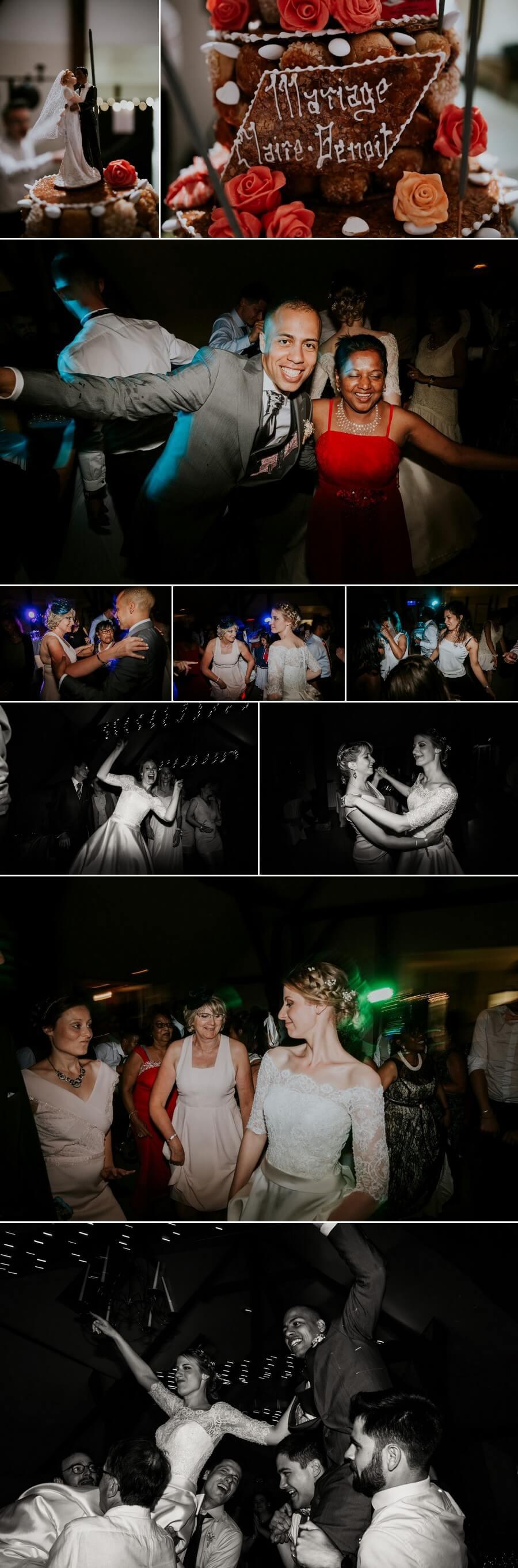 photographe mariage eure et loir Tours grange de Porchelieu fun fête